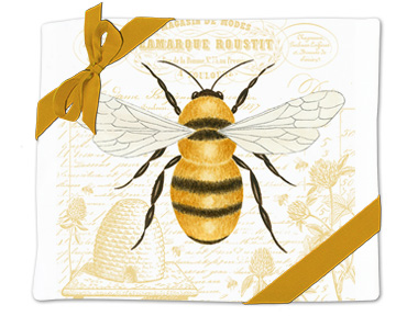 Honey Bee Flour Sack Towel (Set of 2)