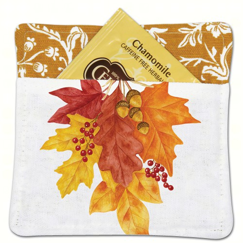 Autumn Leaves Tea Mug Mat