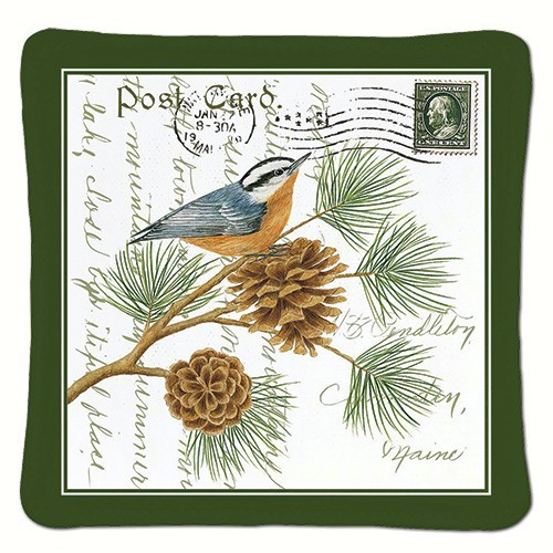 Nuthatch Single Spiced Mug Mat