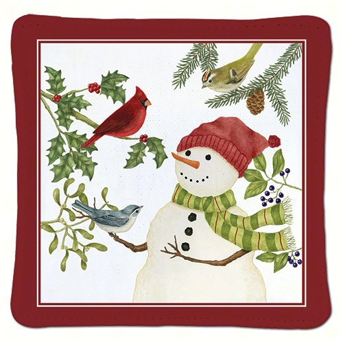 Snowman Single Spiced Mug Mat