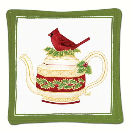 Cardinal Teapot Single Mug Mat