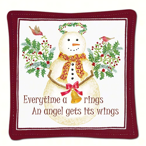 Snow Angel Single Mug Mat