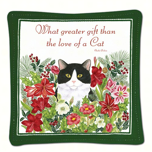 Holiday Kitty Single Mug Mat