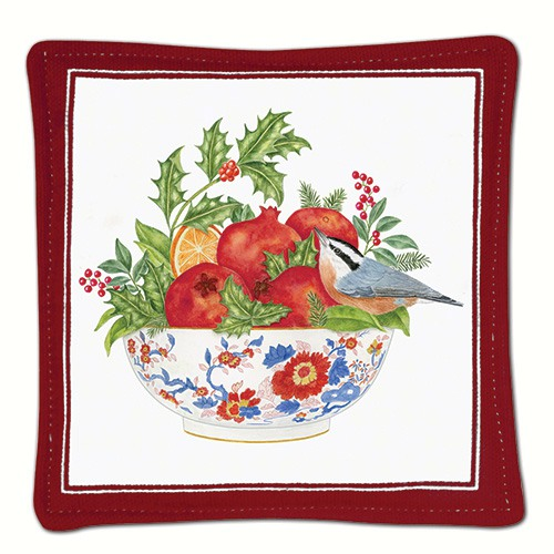 Pomegranates Single Mug Mat