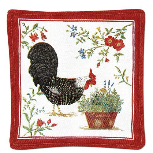 Rooster Single Spiced Mug Mat