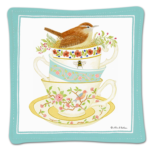 Tea Cups Single Spiced Mug Mat