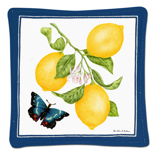 Lemons Single Spiced Mug Mat