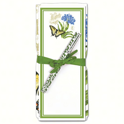 Agapanthus Flour Sack Towel & Magnetic Note Pad Set