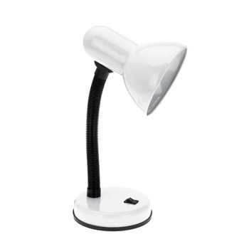 Simple Designs White Basic Desk Lamp