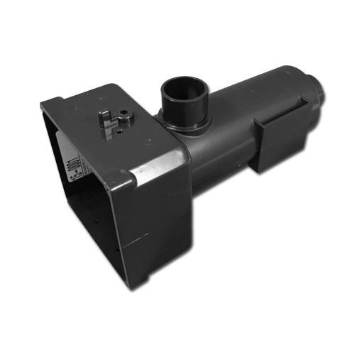 "Heater Manifold,Brett Aqualine(Plastic ABS)90 Deg,1-1/2""Spg  Less Lid P/N 15-0002,Used On EM-201/203/205/301/501/MARQ II Sys"