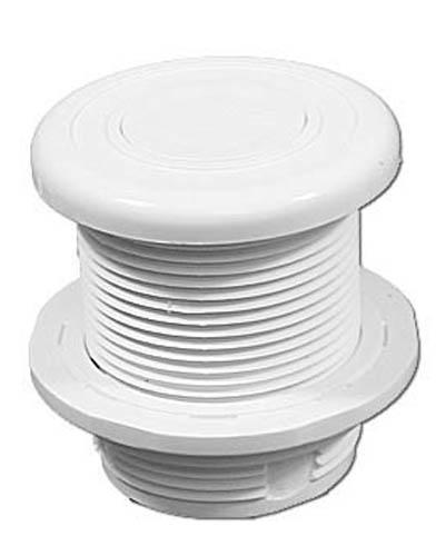Air Button, Len Gordon #10, White