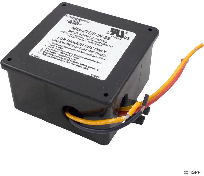 Bath Control, Electronic, Len Gordon, 2.0HP, 230V, 20A, On/Off w/10 Min Timer