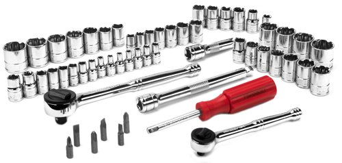 MECHANICS TOOL SET 58PC SAE/MM