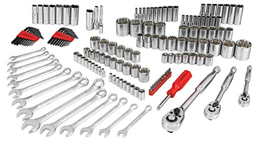 MECHANIC TOOL SET 154PC SAE/MM