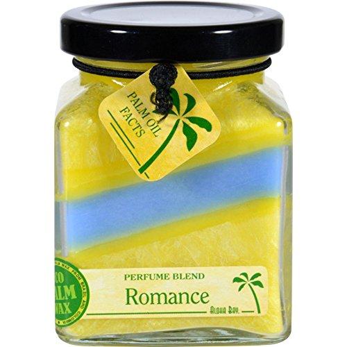 Aloha Bay Candle  Cube Jar  Perfume Blends  Romance  6 oz