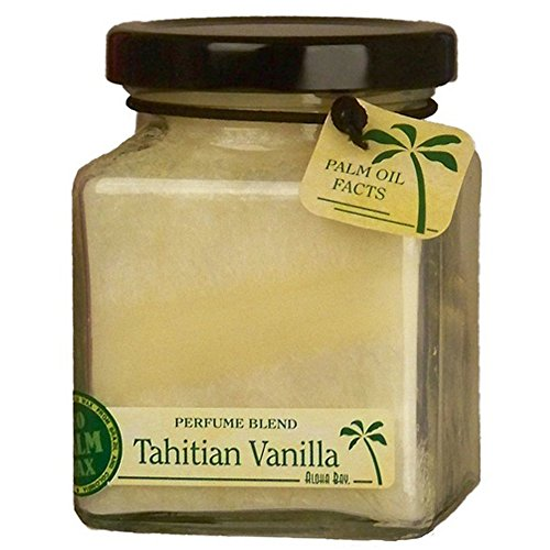 Aloha Bay Candle  Cube Jar  Perfume Blends  Tahitian Vanilla  6 oz