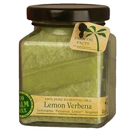 Aloha Bay Candle  Cube Jar  Pure Essential Oils  Lemon Verbena  6 oz