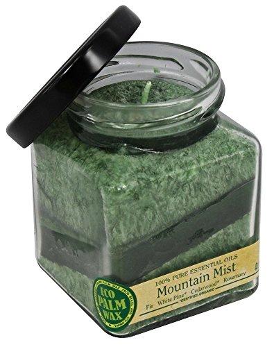 Aloha Bay Candle  Cube Jar  Pure Essential Oils  Mountain Mist  6 oz