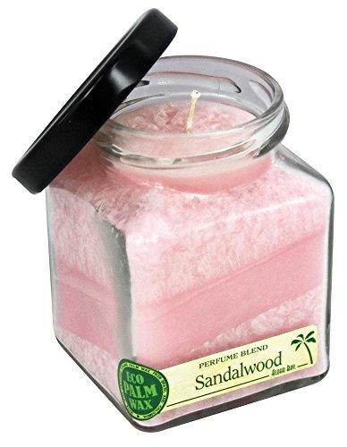 Aloha Bay Candle  Cube Jar  Perfume Blends  Sandalwood  6 oz