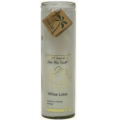 Aloha Bay Chakra Candle Jar White Lotus (1x11 Oz)