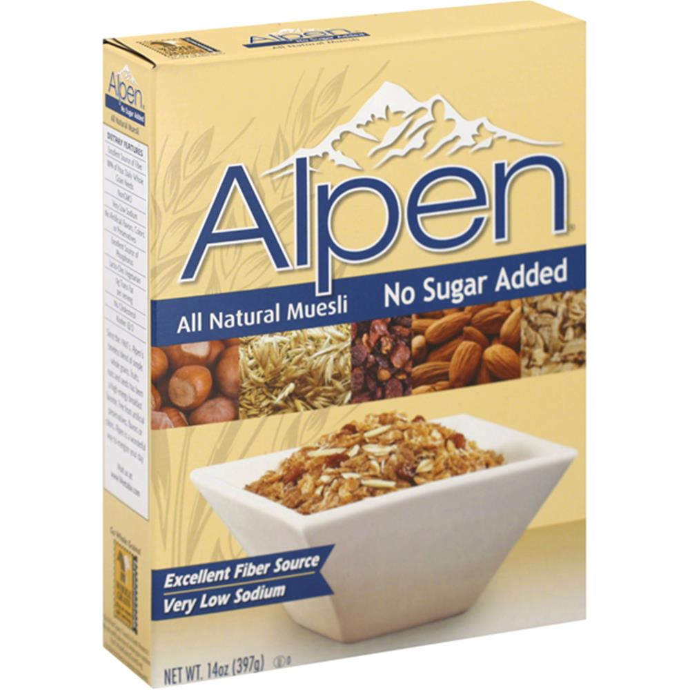 Alpen - Alpen Muesli Cereal No Sugar Added ( 12 - 14 OZ)