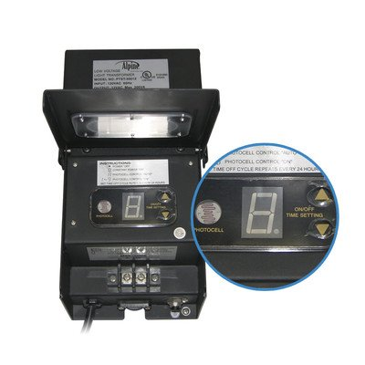 300 Watt Transformer with Timer and Photo Cell