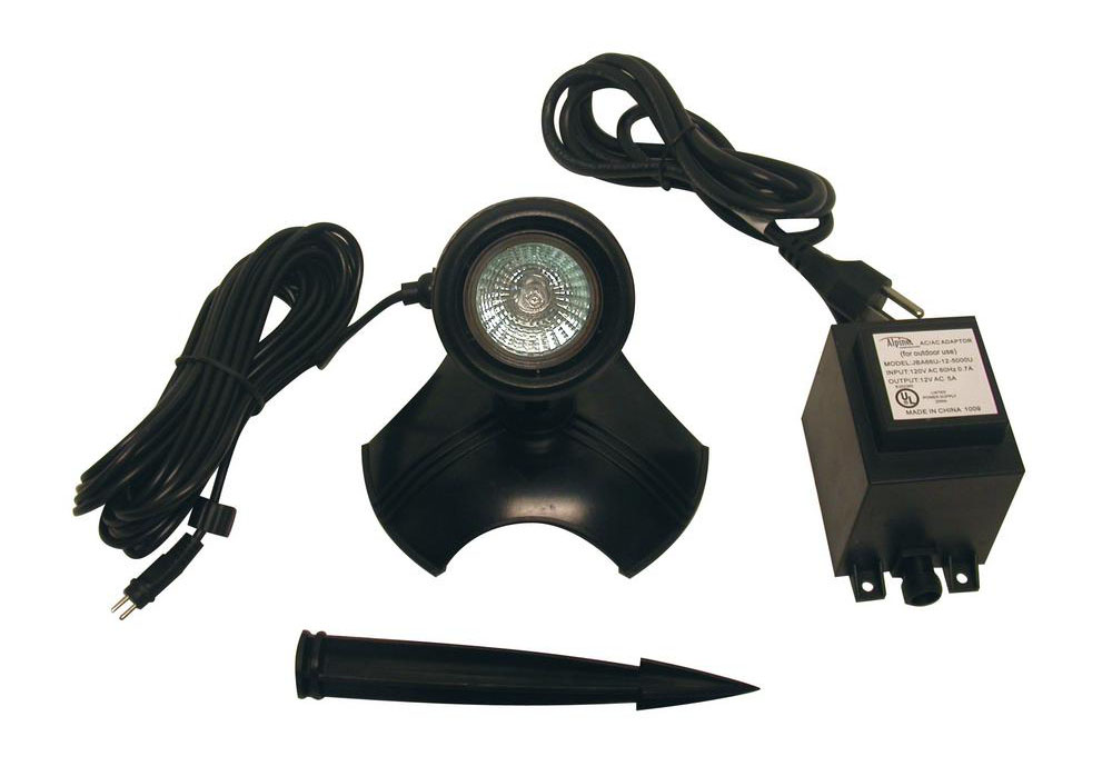 50 Watt Light with Transformer for Use in Water Only