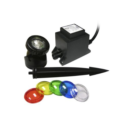 Power Beam 20 W Light with Transformer 23 Ft. Cord with Color Lenses