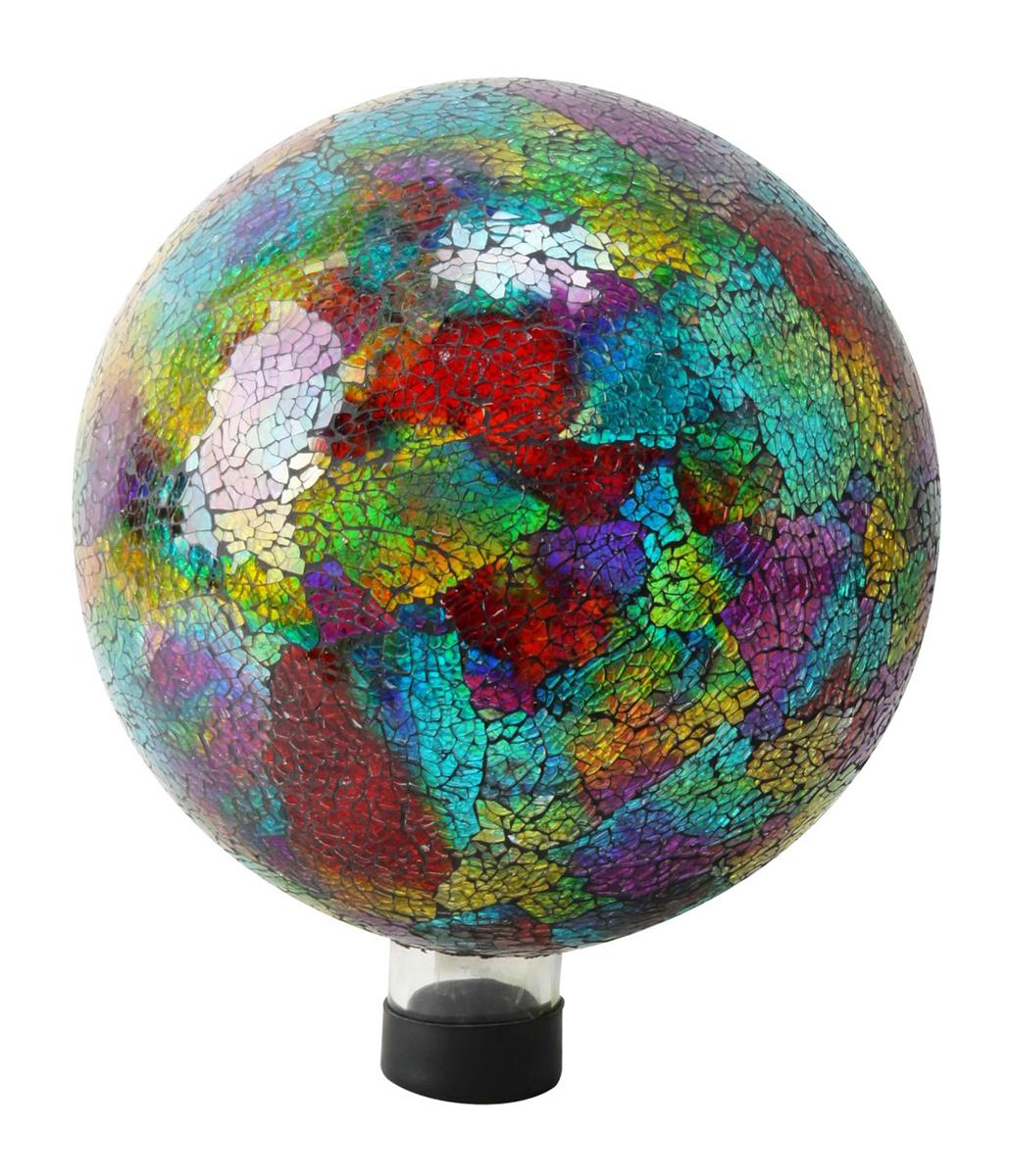"10"" Multi Color Mosaic Gazing Globe"
