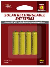Replacement AAA NI-CD Batteries - 300MAH
