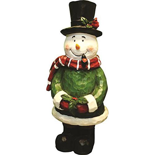 "12"" Snowman Garden Statue"
