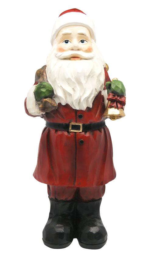 "12"" Santa Statue"