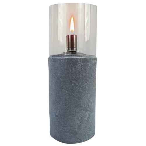 Round Cement & Stainless Steel Cylinder Oil Burner