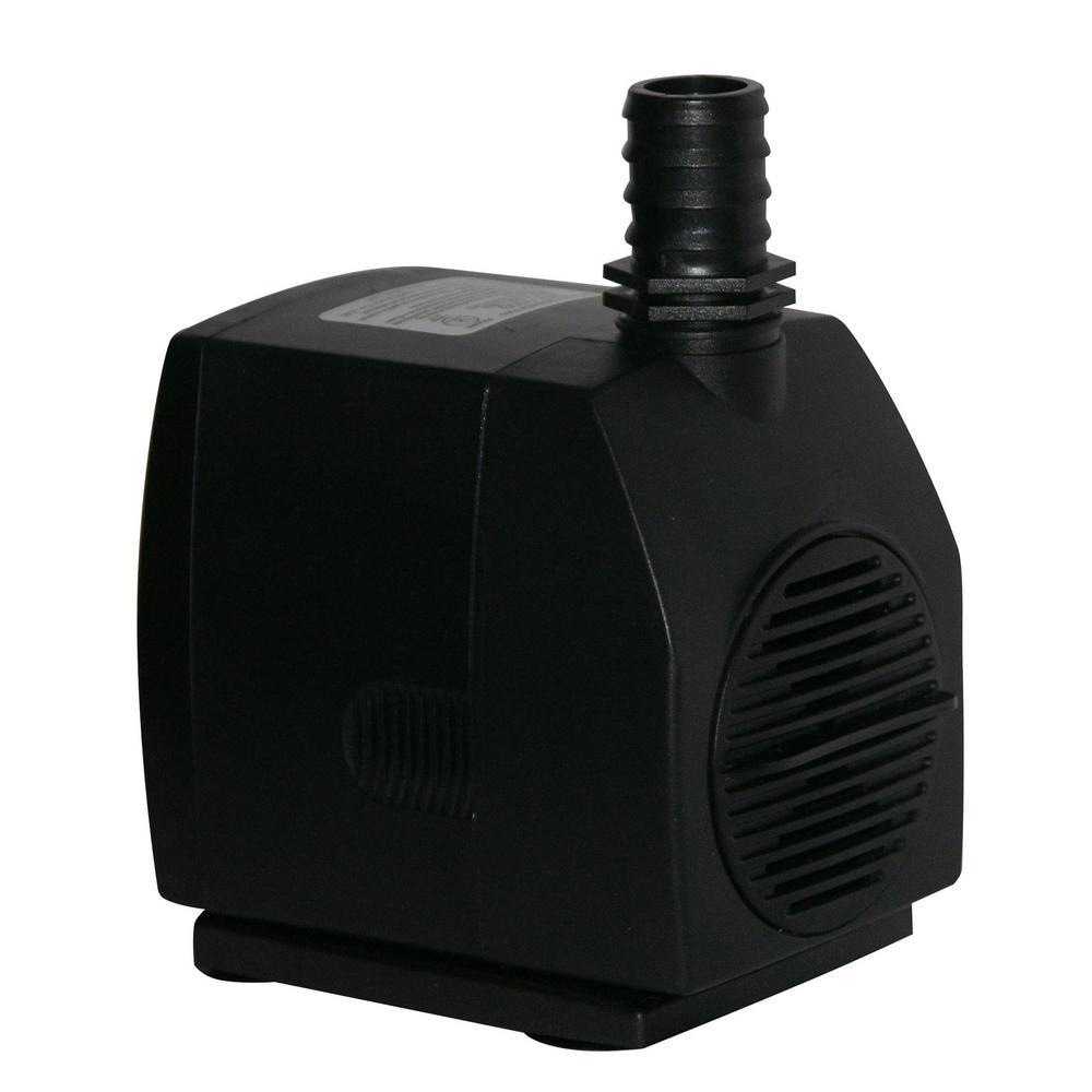 1500GPH Stream Pump w/ 6Ft. Cord - WHITE BOX ONLY