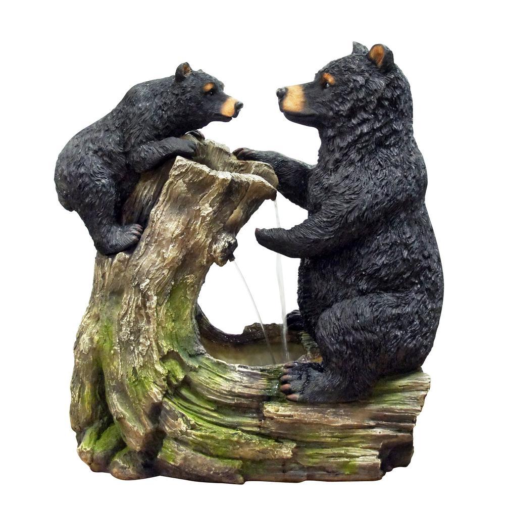 Bear and Cub Fountain