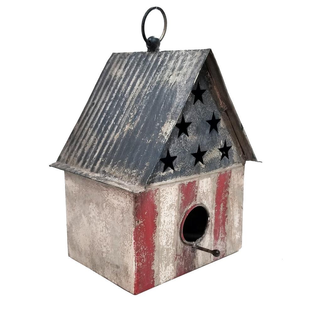 Patriotic Birdhouse DTcor