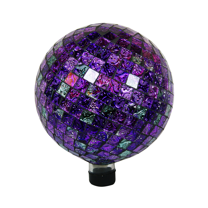 "10"" Gazing Globe Shinning Purple"