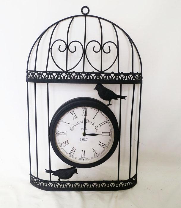 "Alpine 13"" Birdcage with Clock per EA at Sears.com"