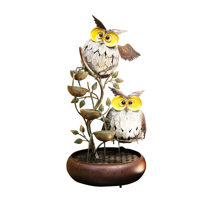 "31"" Owl Tiering Fountain"