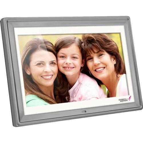 "10"" Digital Photo Frame Silver"