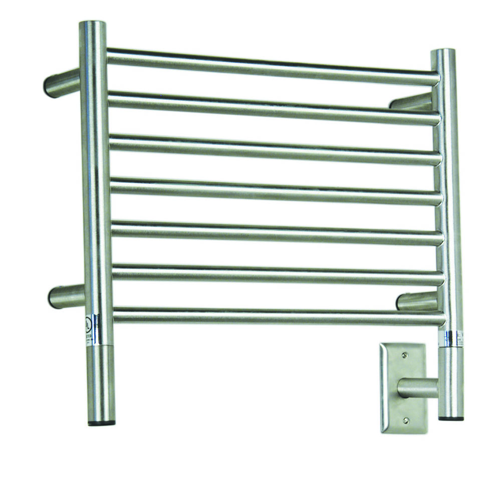 Amba Electric Wall Mount Jeeves H Straight Towel Warmers Polished