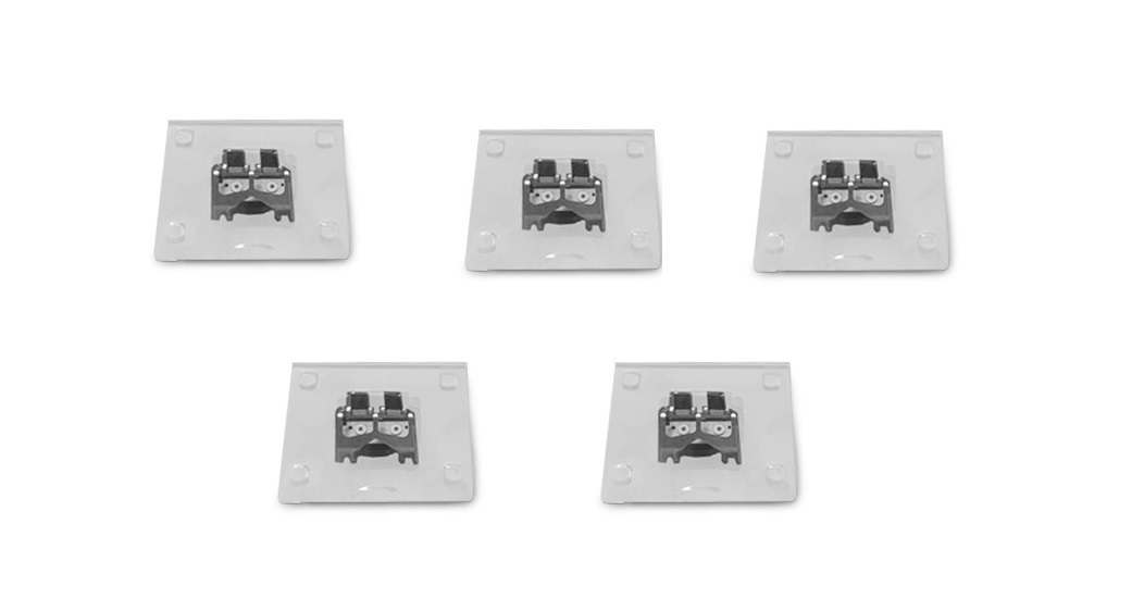 Ambir Technology ImageScan Pro 820I ADF Replacement Feed PAD-5-Pack SA805-FP