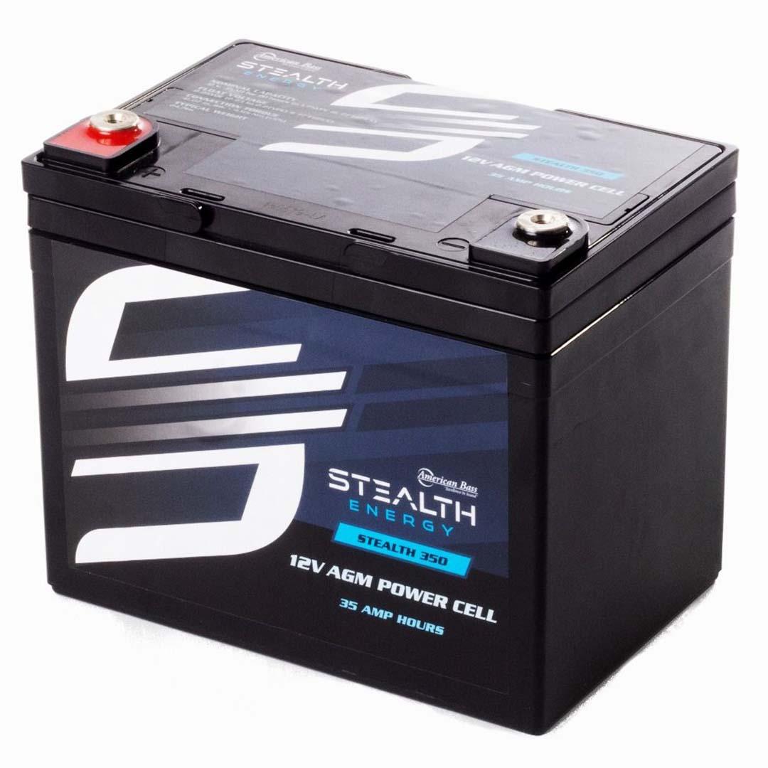 American Bass 12 Volt AGM Power Cell 35Ah