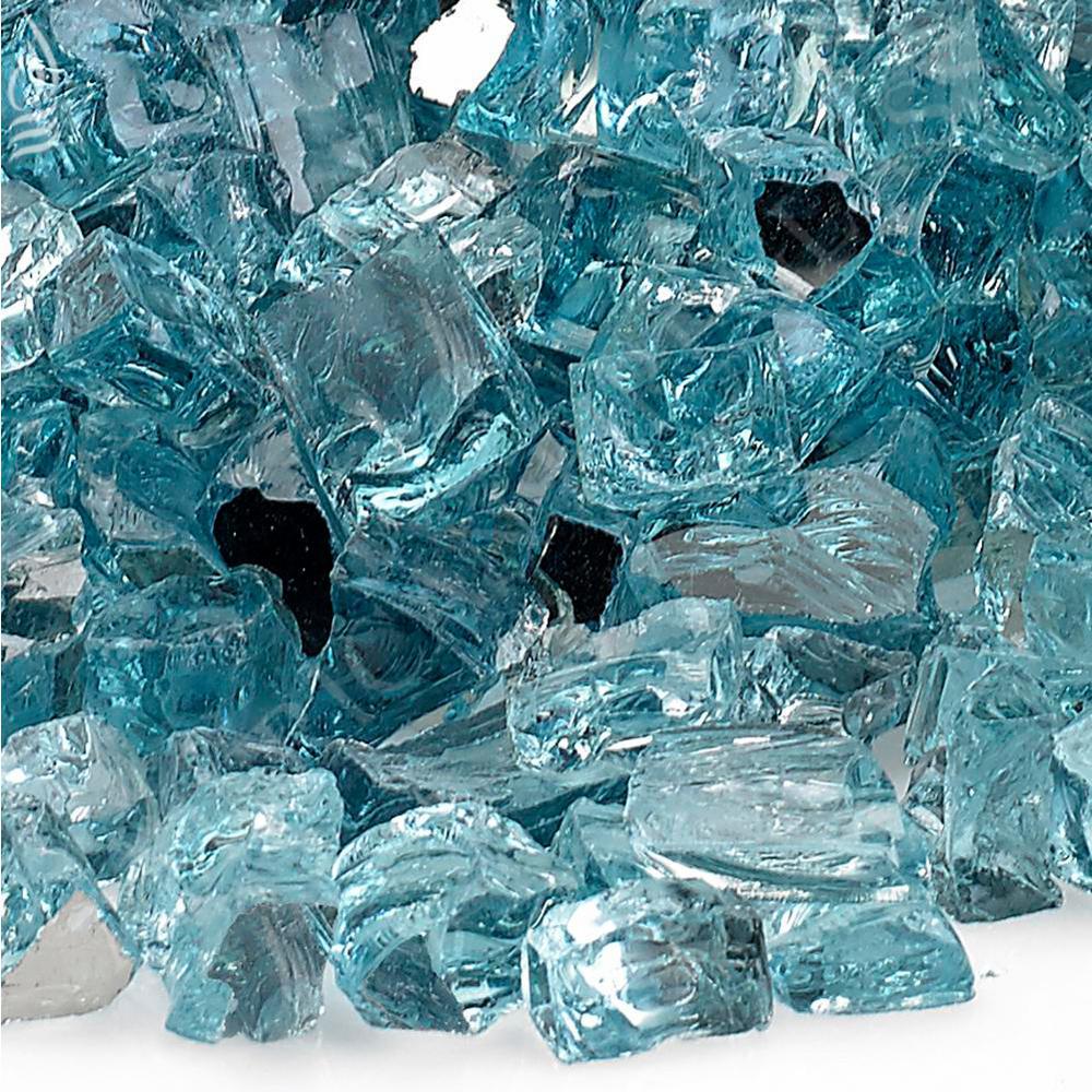 "1/2"" Azuria Reflective Fire Glass, 10 lb. Bag"