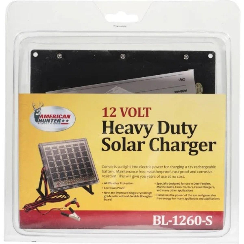 American Hunter BL 1260 S 12v Solar Charger