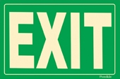 EXIT Sign - Green