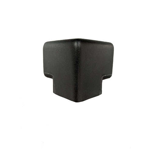Large Squared - PERMALIGHT� Protective Corner Guards, Black