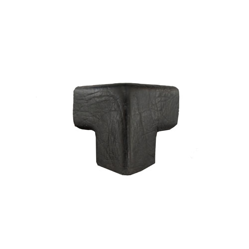 Small Squared - PERMALIGHT� Protective Corner Guards, Black