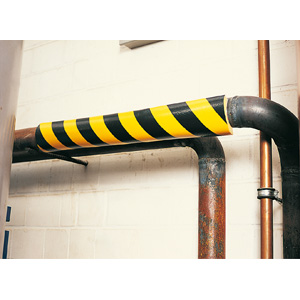 Type R1 Pipe Protection Foam Guard - Black/Yellow