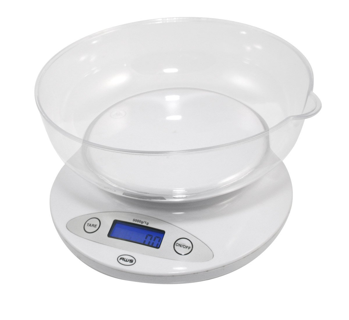 Bowl Kitchen Scale White
